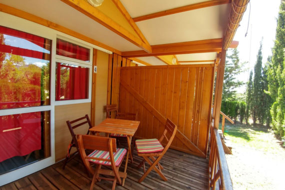 Bungalow 4pax (terraza)